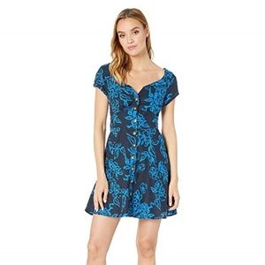Free People A Thing Called Love Mini Dress 0 NEW
